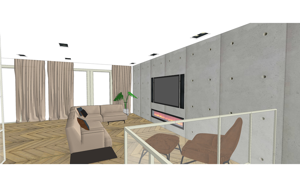 3D visual of the Admiraal apartment - 2