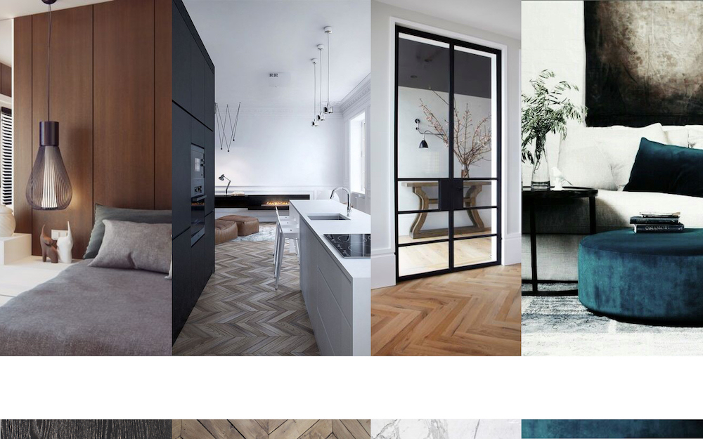 Mood board 2 for the Admiraal apartment