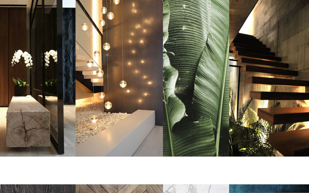 Mood board 1 for the Admiraal apartment